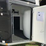Bockmann Comfort Zwart metallic polyester zadel Nieuw binnen